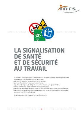 La signalisation de santé et de sécurité au travail