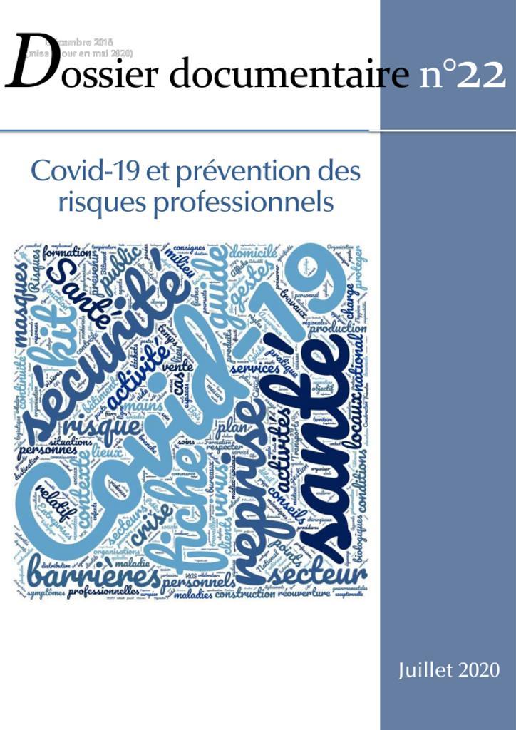 Covid-19 et prévention des risques professionnels.. 22 |